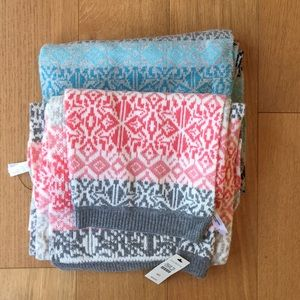 2 winter scarves from Talbots. New with Tags.